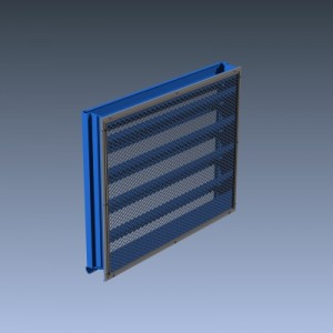 Louver Accessories Customizable Building Industrial