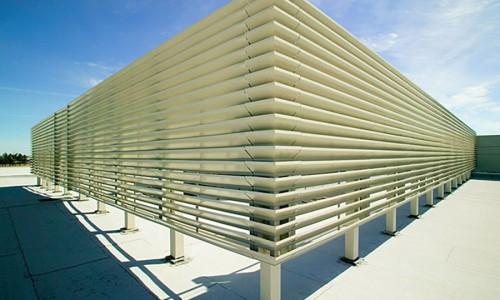 Equipment Screens Louvered Fences Industrial Louvers Inc