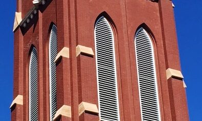 Shaped louvers - Ascension Church, Minneapolis